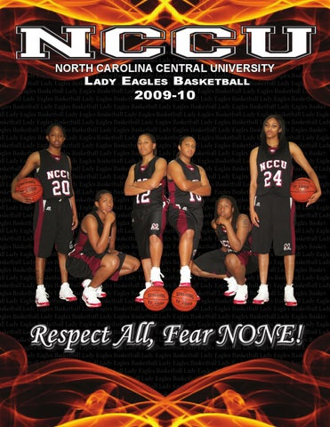 2009 10 Nccu Women S Basketball Media Guide By North Carolina Central University Department Of Athletics Issuu