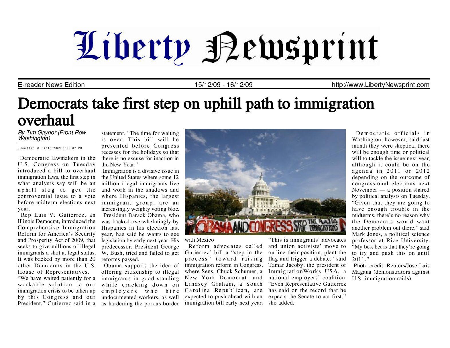 Liberty Newsprint Dec-16-09 by Liberty Newspost - issuu