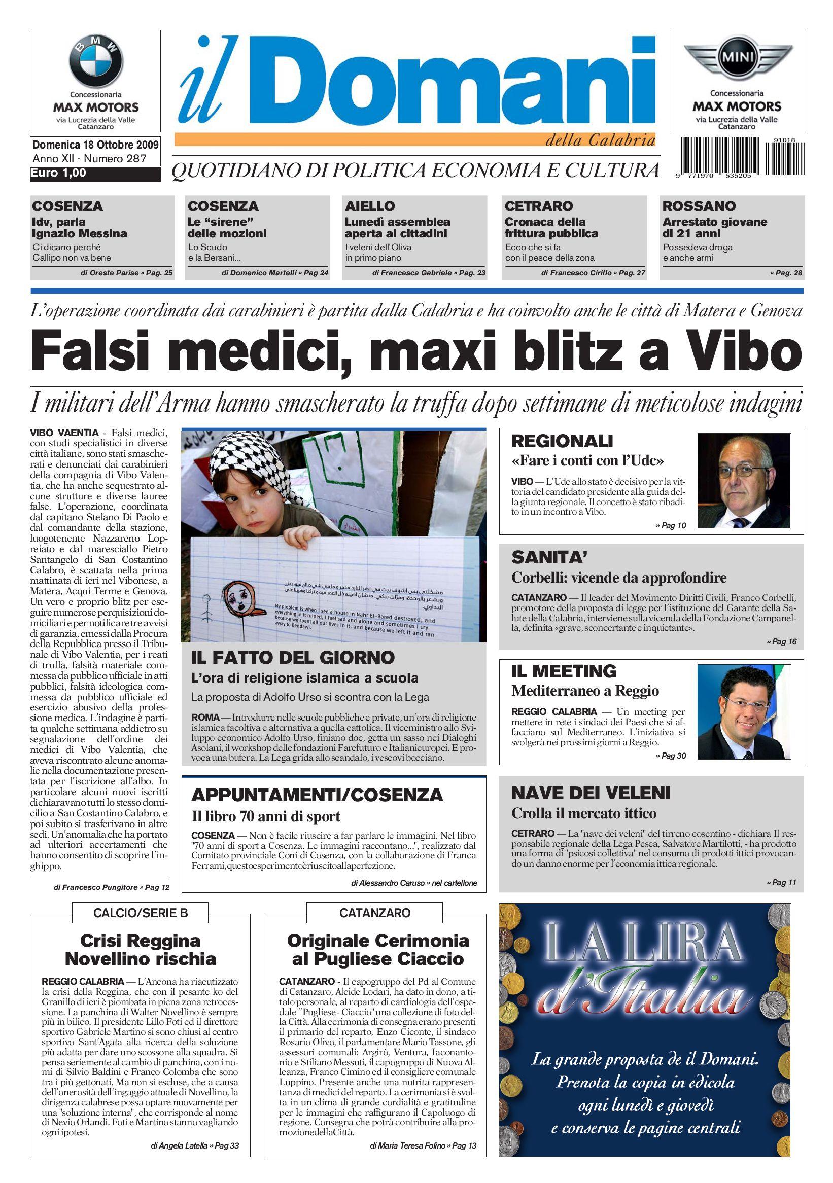ildomani by T P Editori il Domani - issuu 23e5190039e
