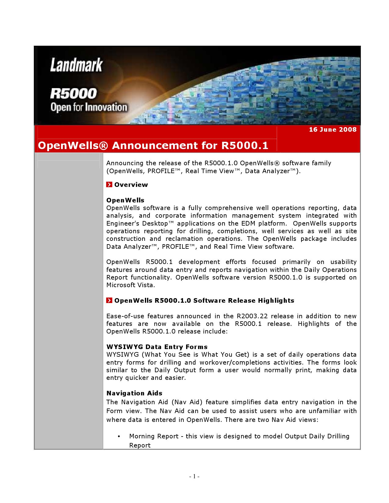 OpenWells_reporting_5001 1 by Roy Marvin - issuu