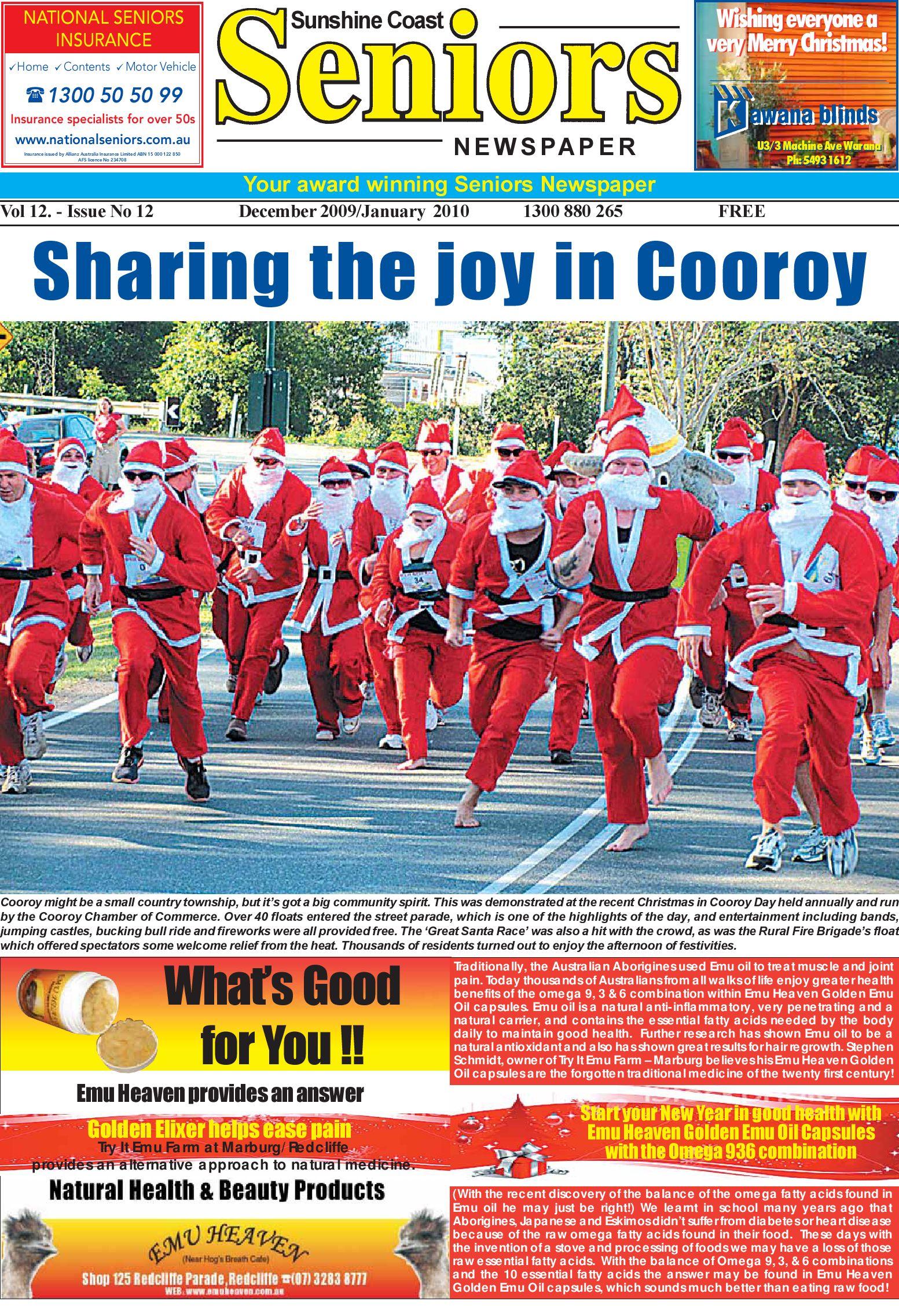 Sunshine Coast Seniors Christmas Edition By Cheril Kane Issuu