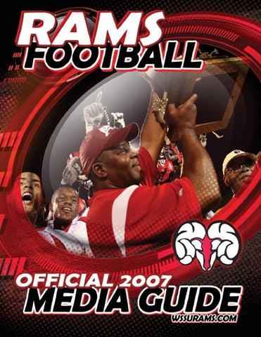 buy popular 2062a 8e1a0 2007 WSSU Football Media Guide by Winston-Salem State Univer