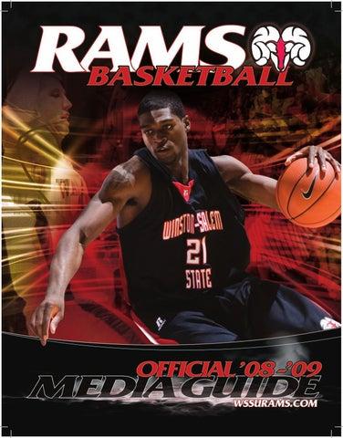 new style b3603 84767 2008-09 WSSU Men s Basketball Media Guide by Winston-Salem State ...