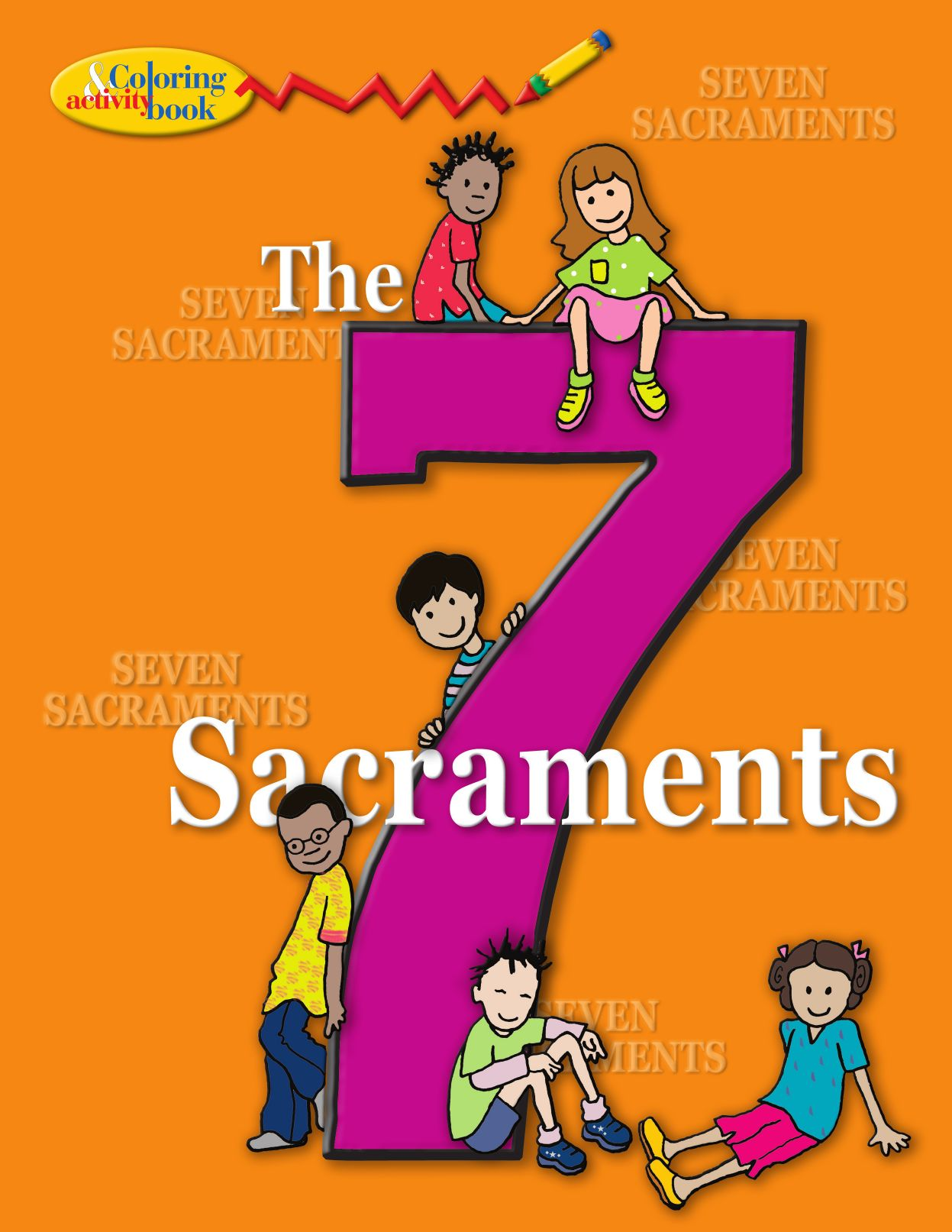 The Seven Sacraments Coloring And Activitiy Book By Pauline Books