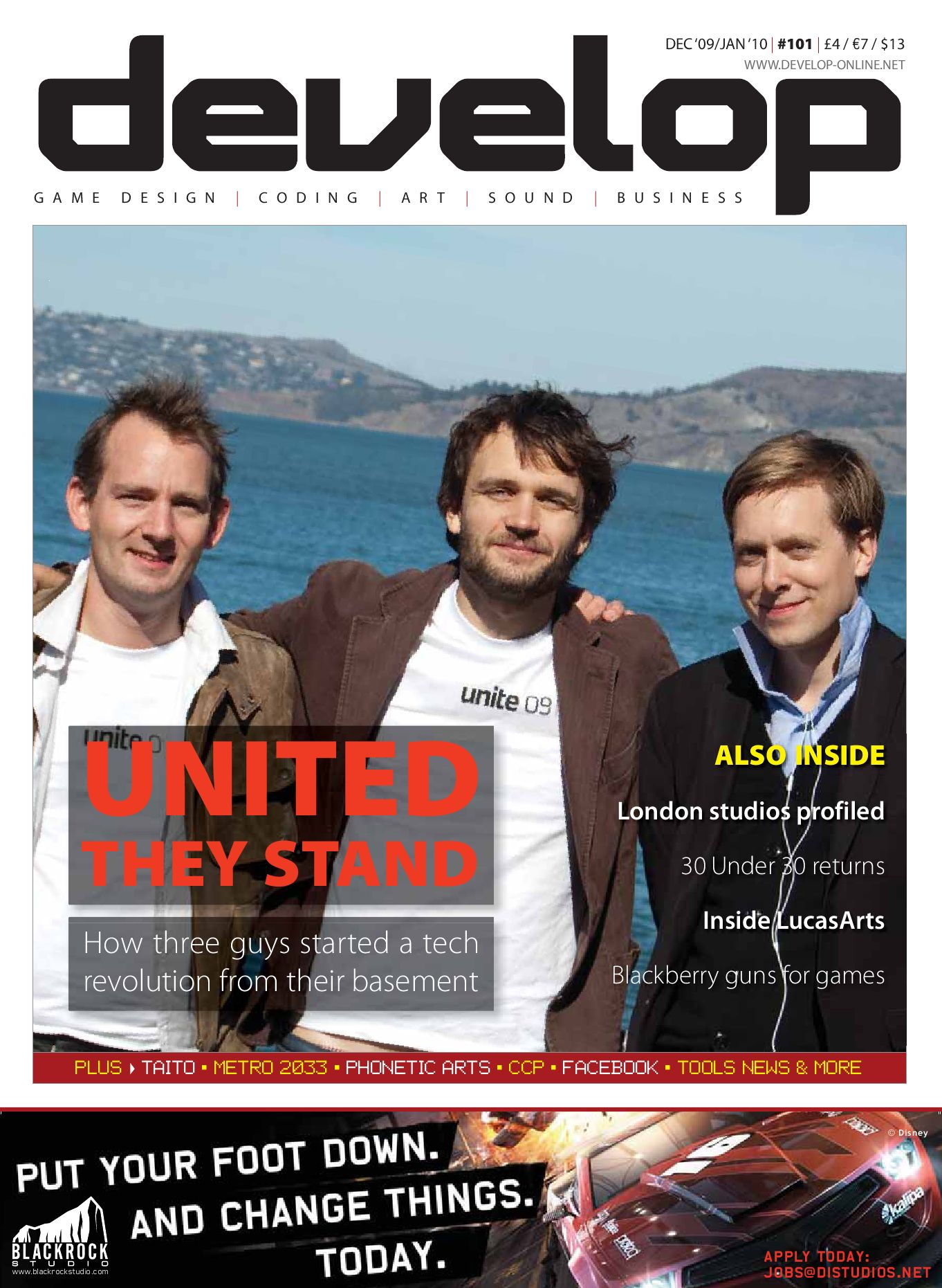 Develop - Issue 101 - December 2009 / January 2010