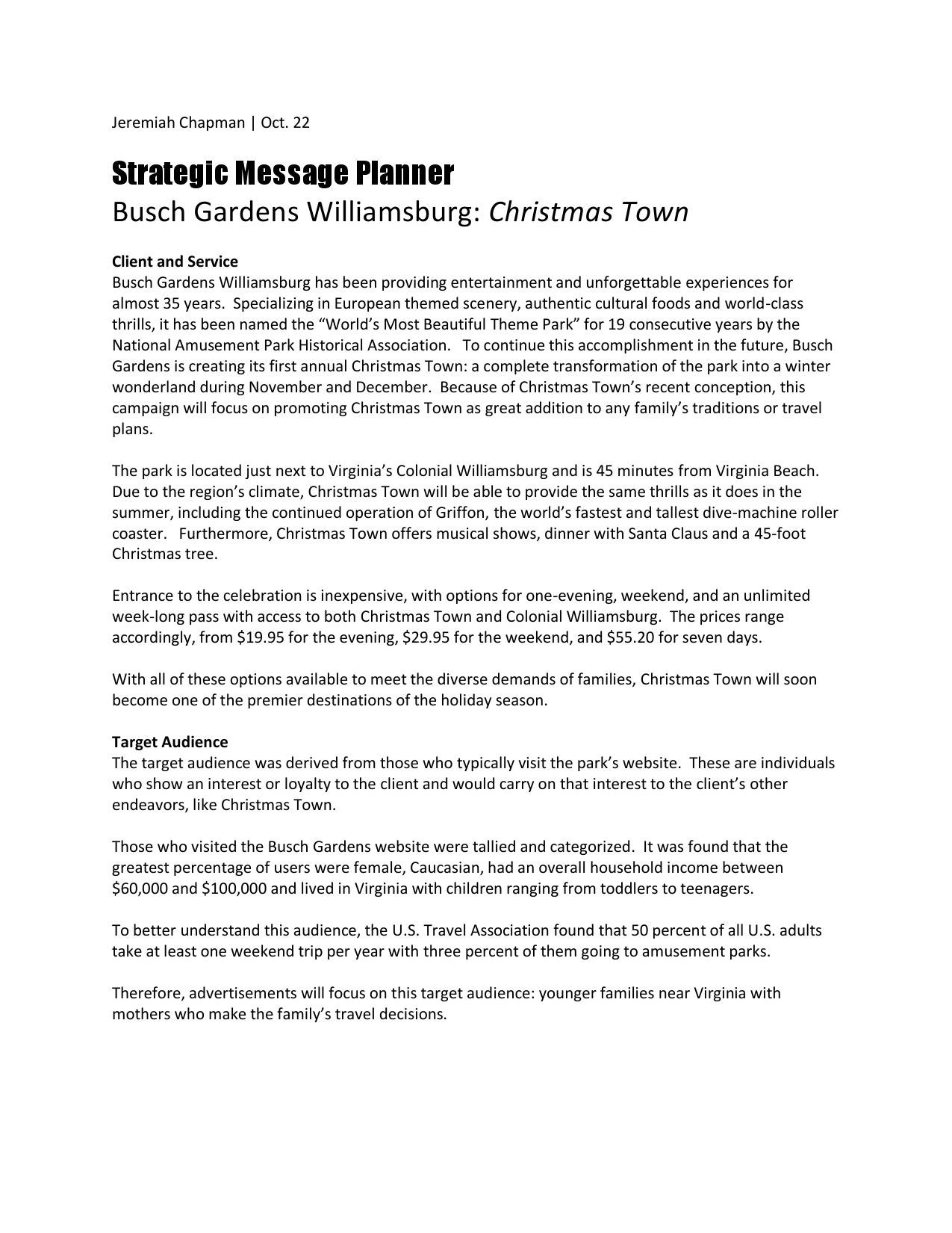 strategic message planner by jeremiah chapman issuu
