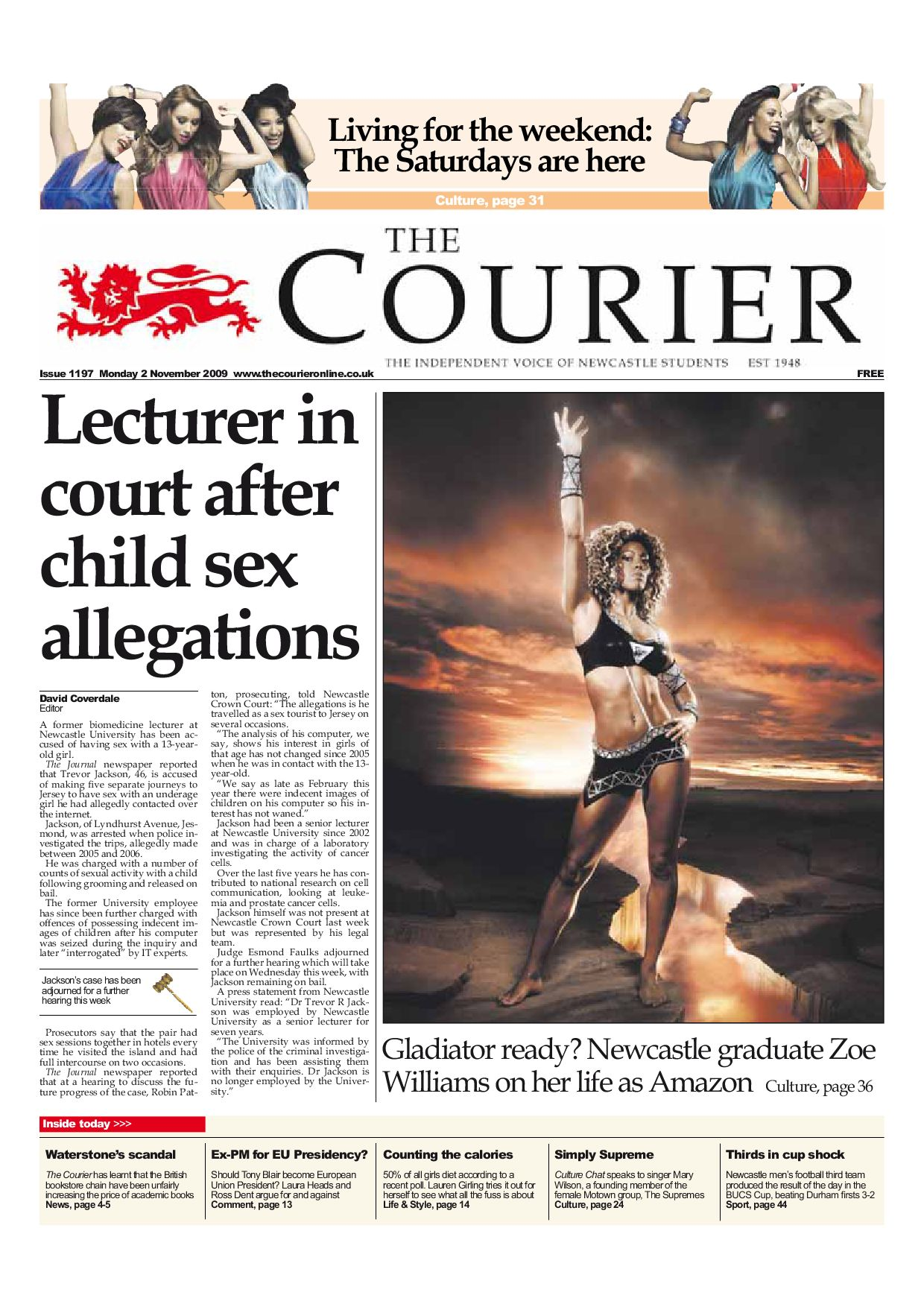 The Courier 1197 by The Courier line issuu