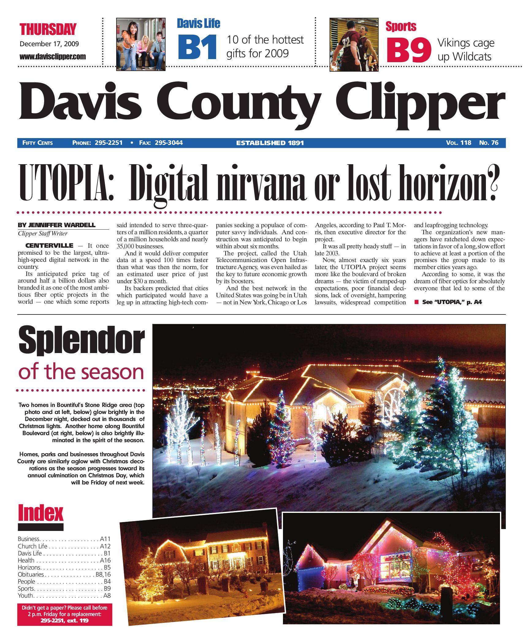 Davis Clipper December 17, 2009 by Davis Clipper - issuu