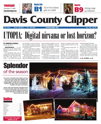 Davis clipper december 17 2009 by davis clipper issuu page 1 fandeluxe Image collections