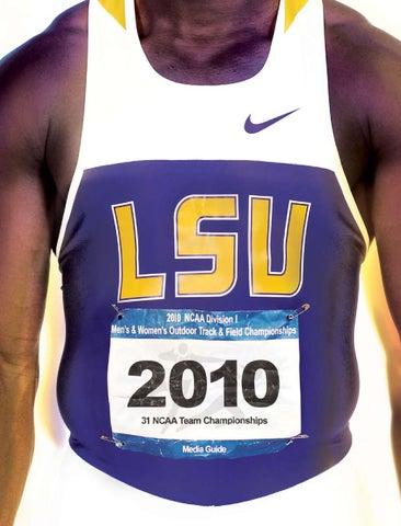 2010 LSU Track and Field Media Guide by LSU Athletics - issuu cce093f89