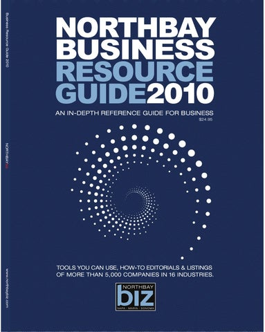 North Bay Business Resource Guide 2010 by NorthBay biz - issuu