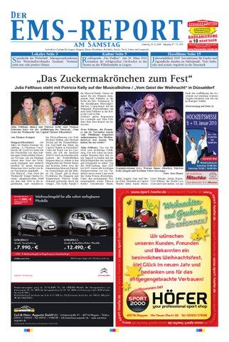EmsReport Ausgabe line KW 38 10 by Ems Report GmbH & Co KG issuu