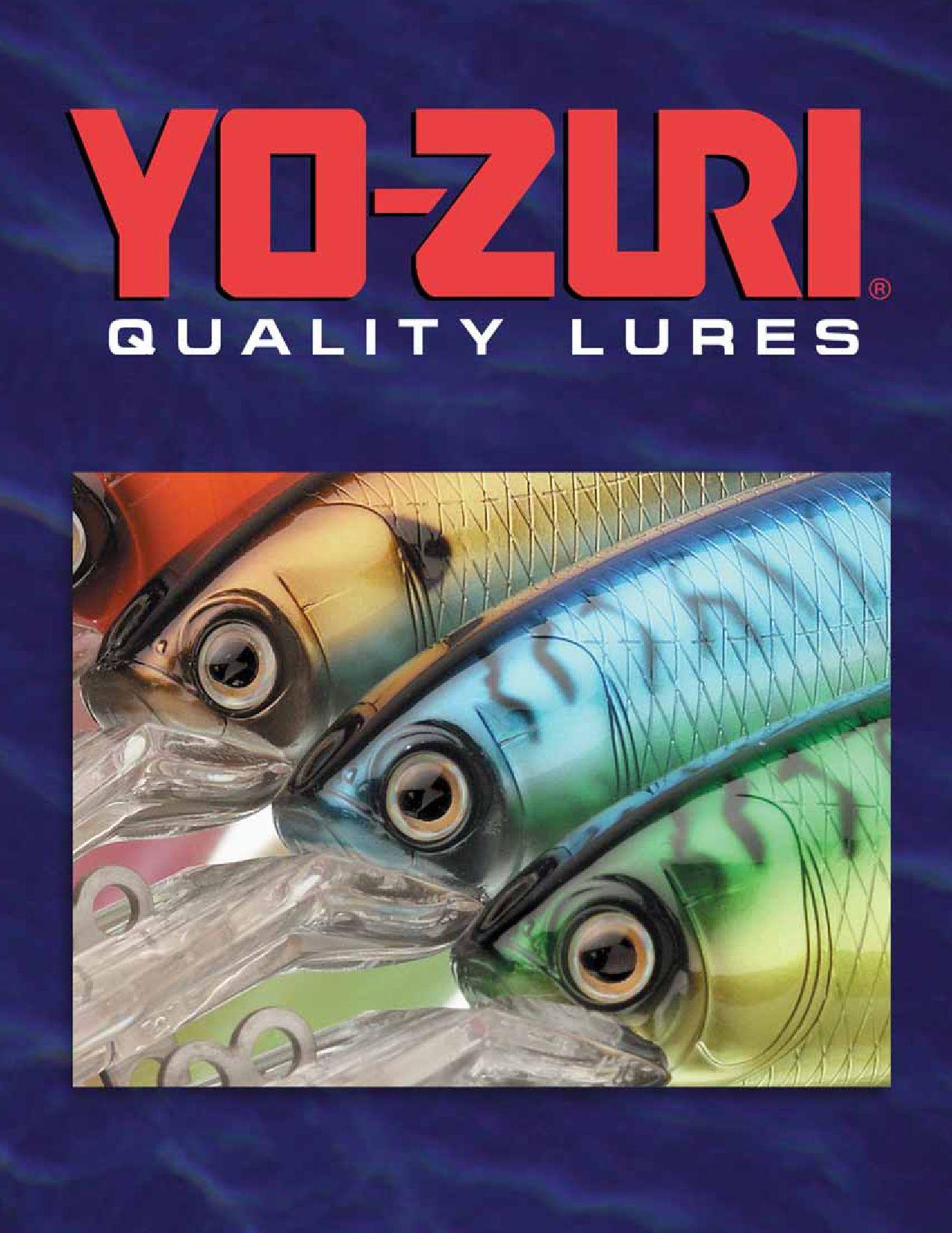 "Yozuri Crystal Minnow 3 5//8/"" 3//8 Oz Sinking F9"