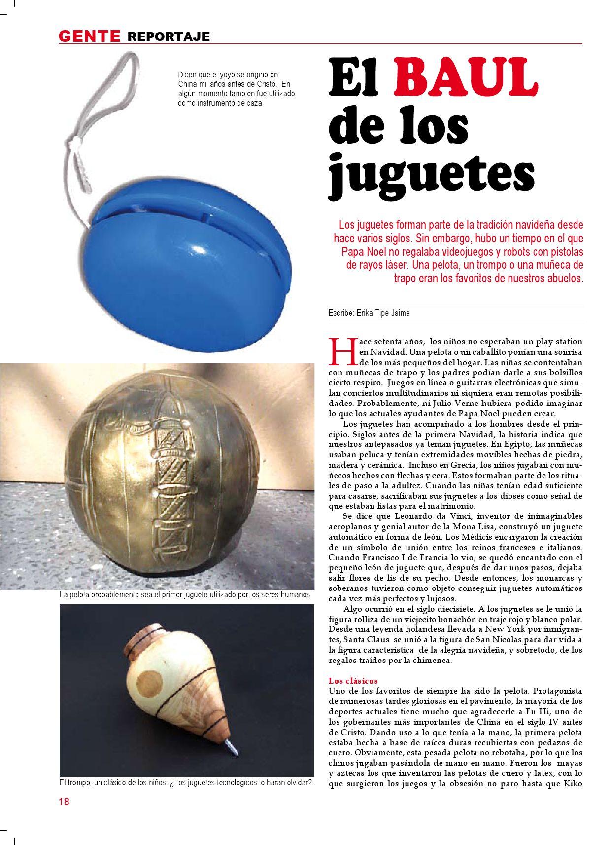 Los Juguetes Del Pasado Con Que Jugaban Nuestros Abuelos By Revista
