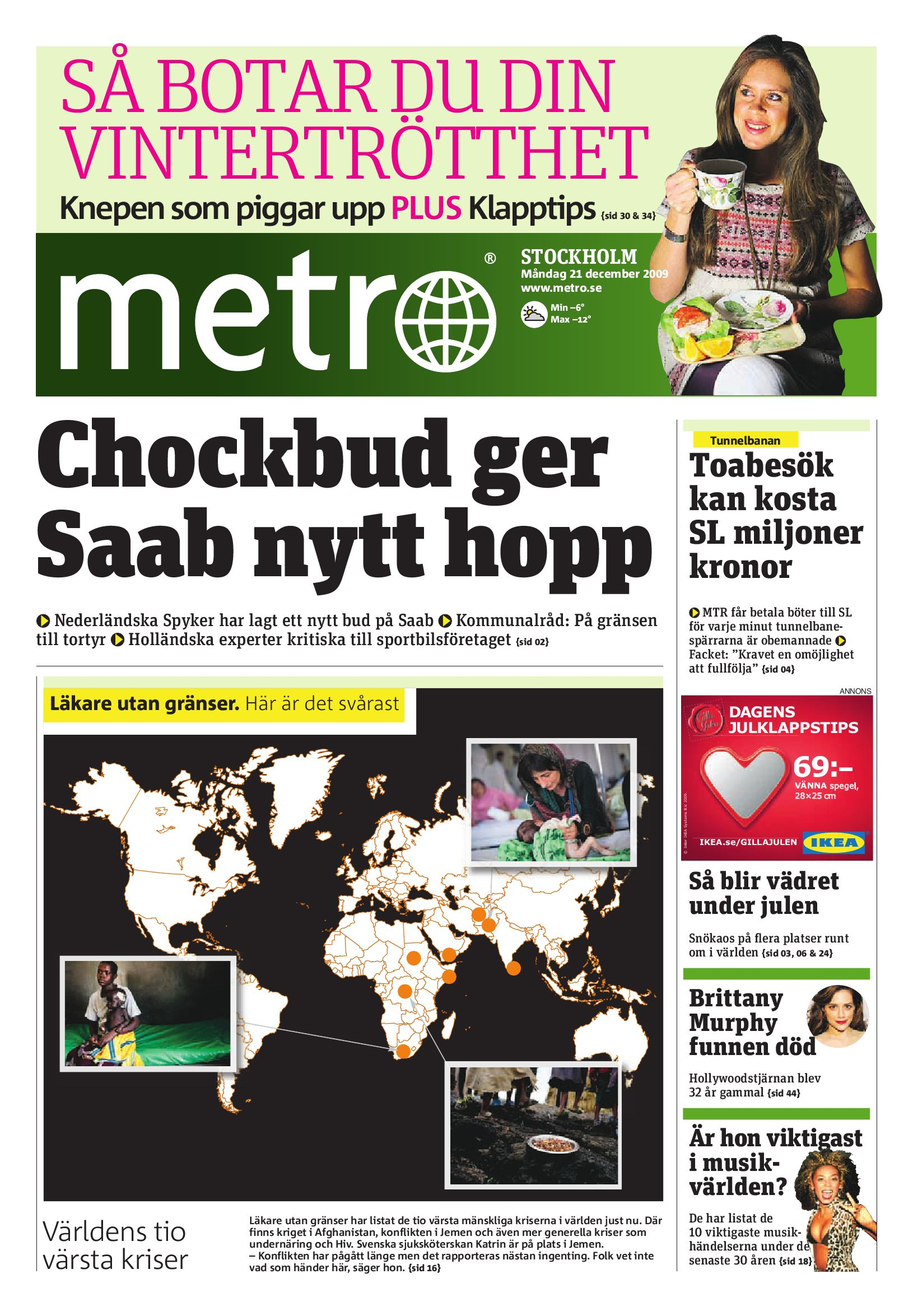 buy popular 23264 63797 http   www.readmetro.com media archive pdf 20091221 Stockholm by Metro  International - issuu