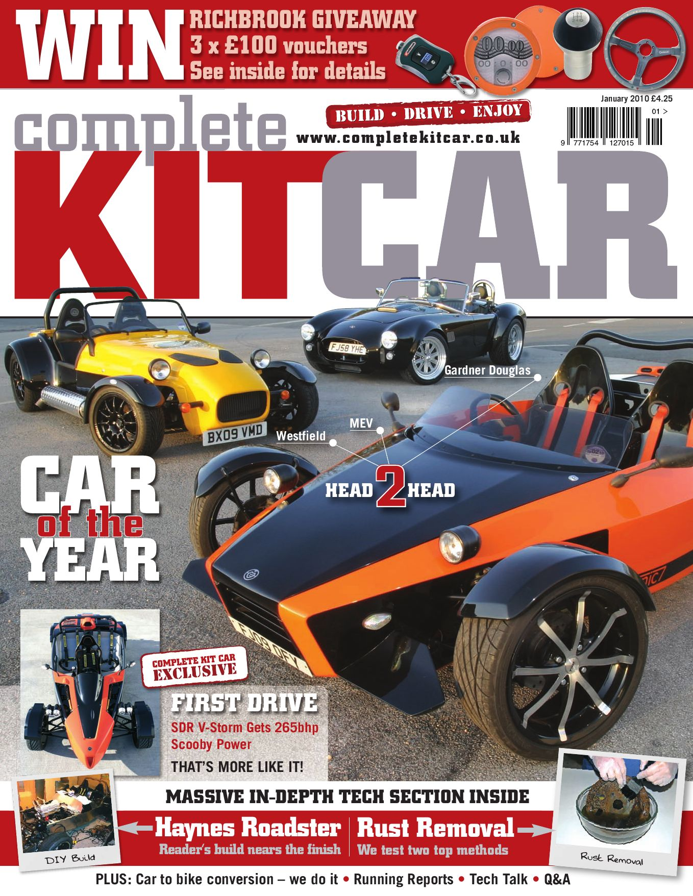 Complete Kit Car magazine January 2010 Preview by Performance ...