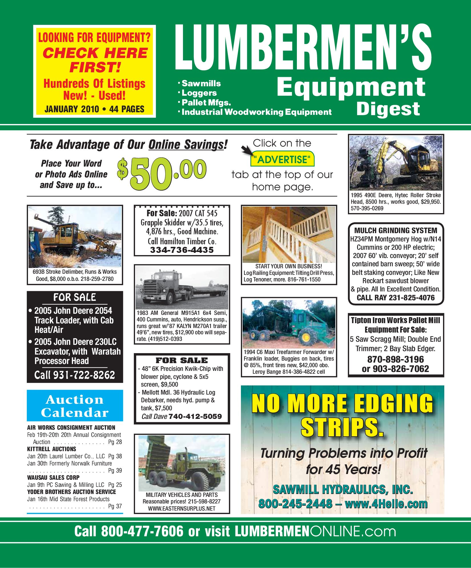 Tree farmer skidder for sale in ny - January 2010 Lumbermen S Equipment Digest By Lumbermen S Equipment Digest Issuu