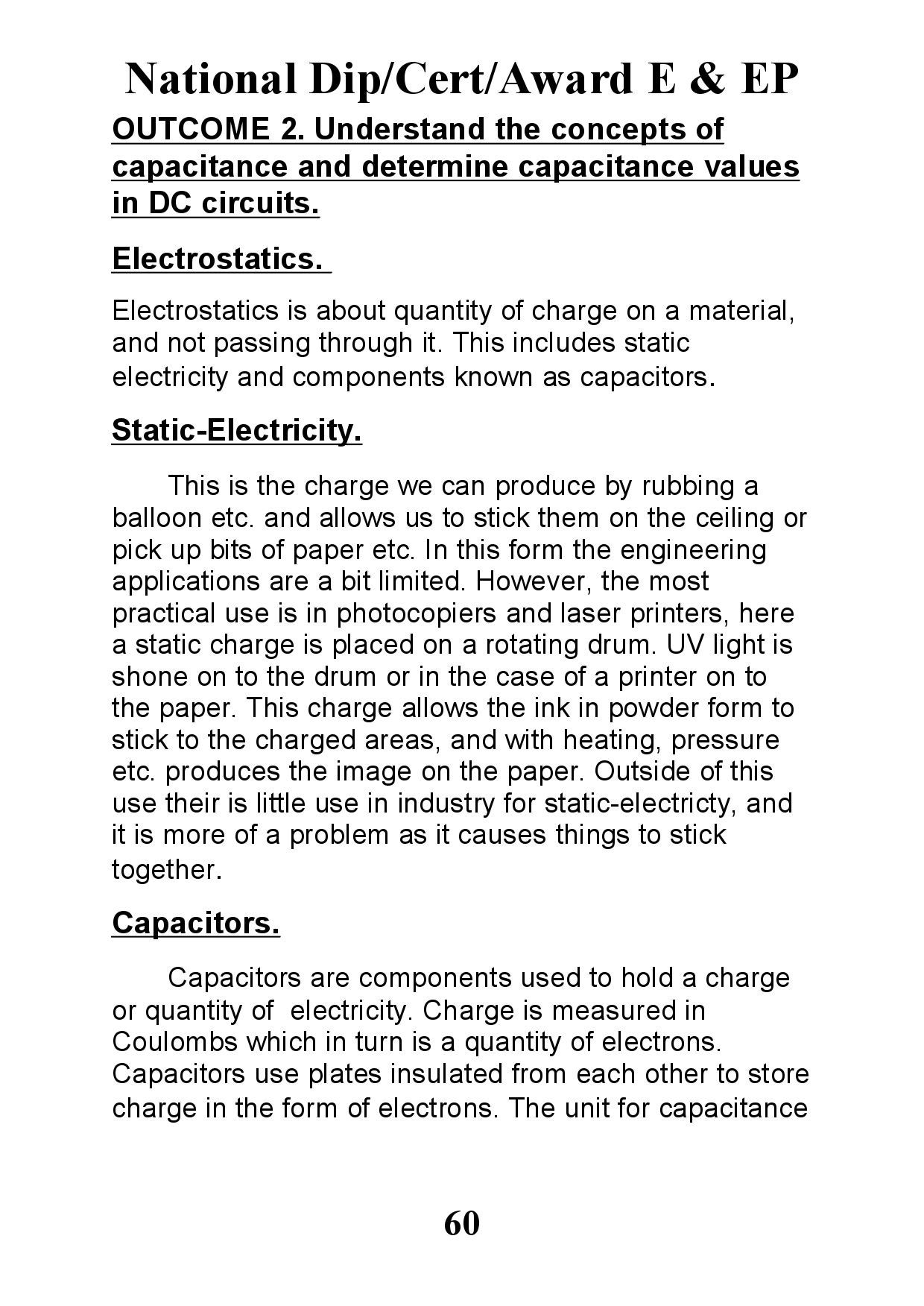 E Ep Outcome2 Yr1 By Trev Drinkw Issuu Capacitance And Charge On A Capacitors Plates