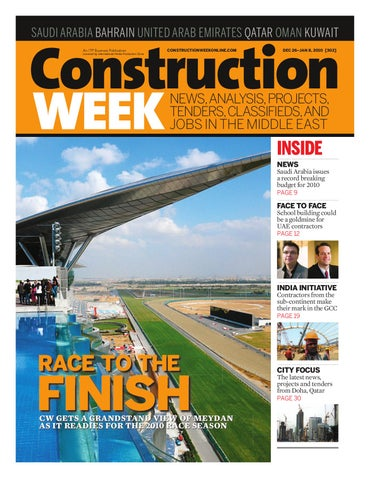 Construction Week Issue 302 by ITP Business Publishing - issuu