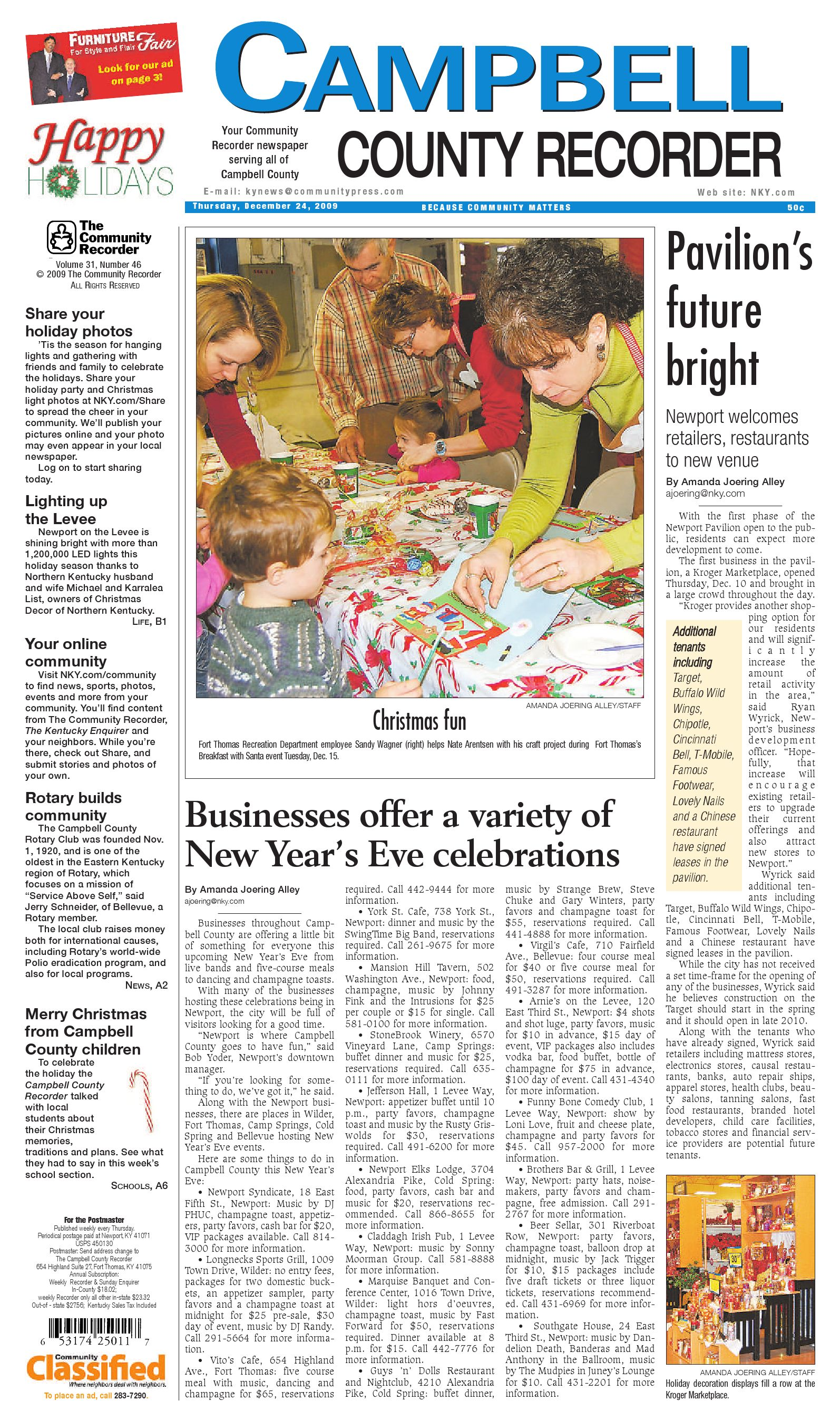 campbell-county-recorder-122409 by Enquirer Media - issuu