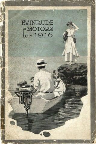 1916 - EVINRUDE Outboard Sales Brochure by Liquid Nirvana - issuu