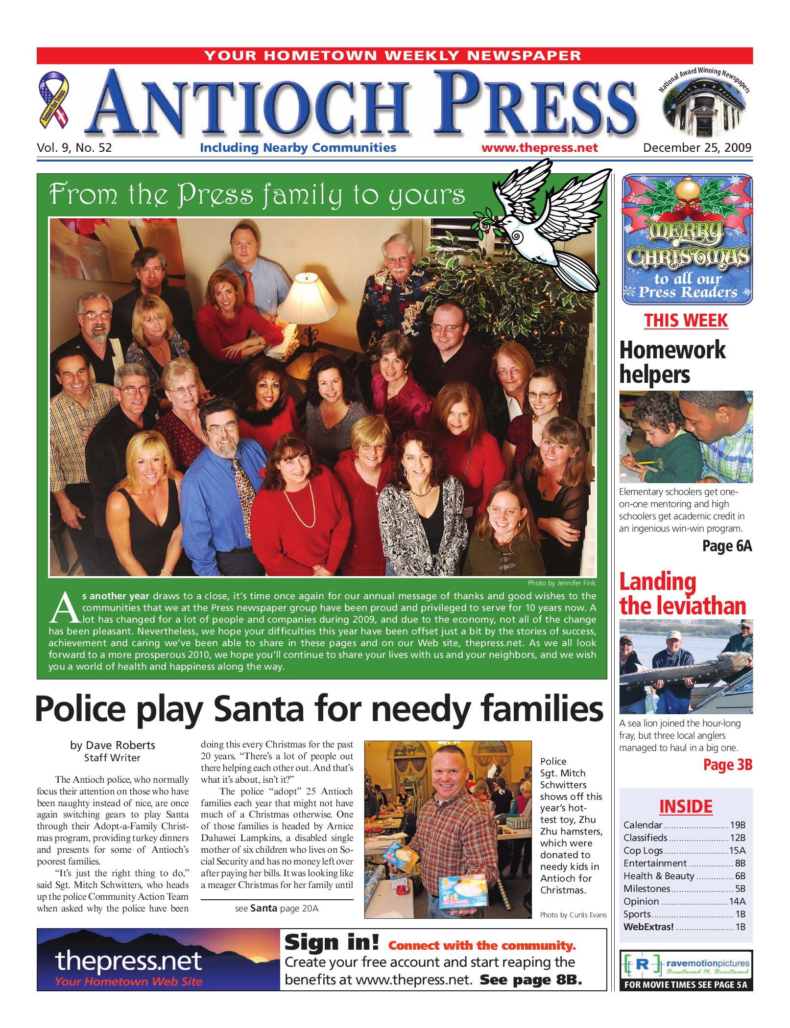 c8579ae4ff3a Antioch Press 12.25.09 by Brentwood Press   Publishing - issuu