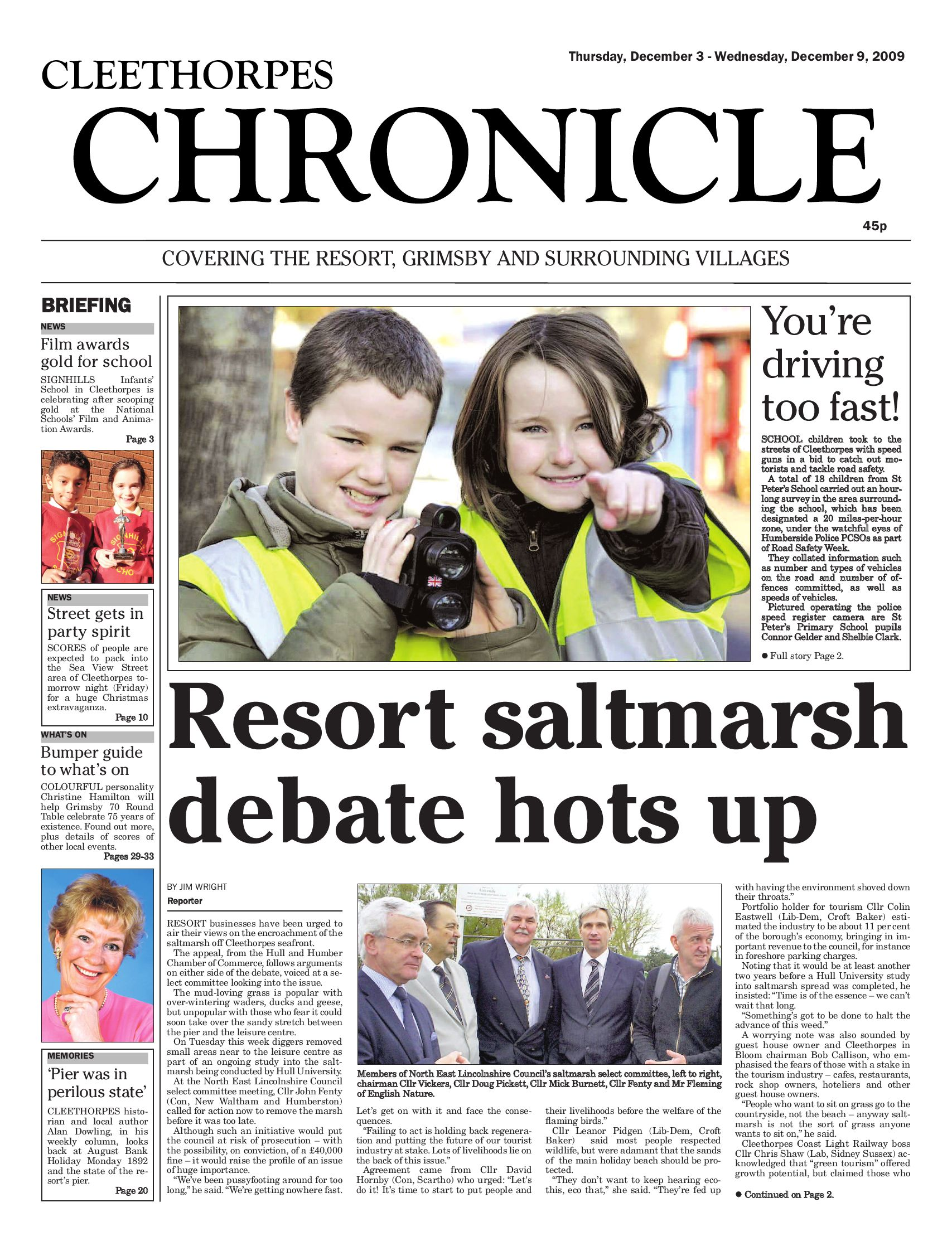 issue 92 23 december 2009 by cleethorpes chronicle ltd issuu