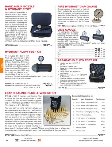 Heiman Fire Equipment 2010 Catalog By Heiman Fire Equipment Issuu