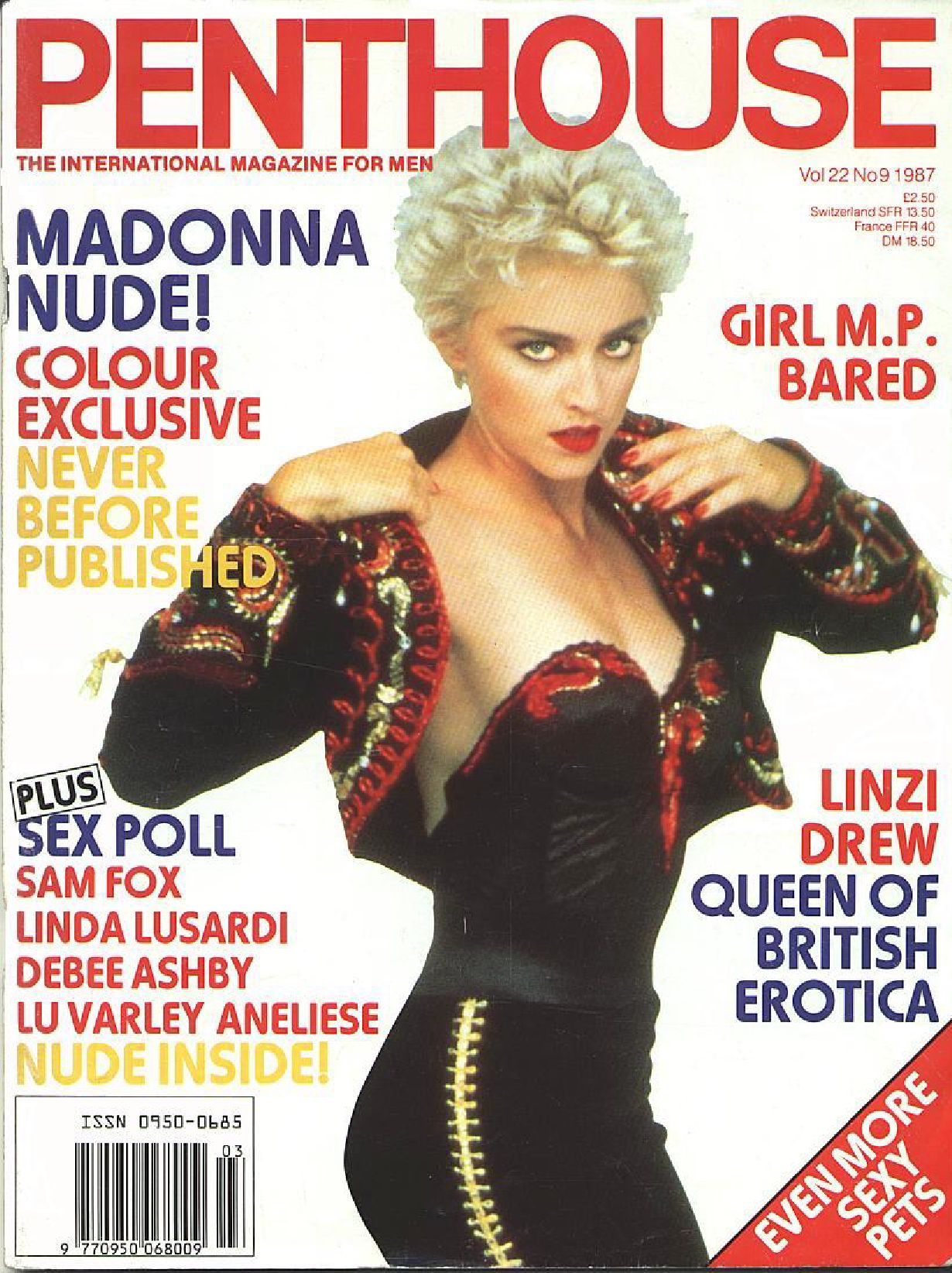 Madonna - Penthouse - Nude(1987.09 Vol 22) by MADONNAGLAM