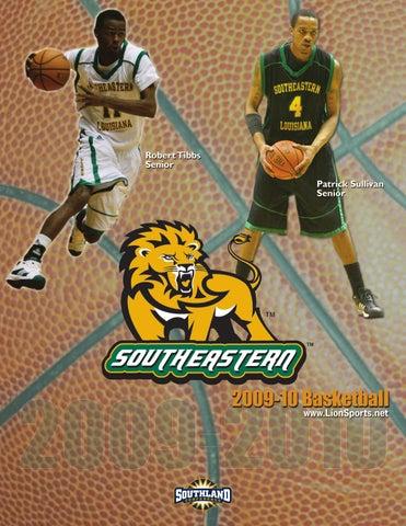 74d2915226bcf 2009-10 Southeastern Louisiana Men s Basketball Media Guide by ...