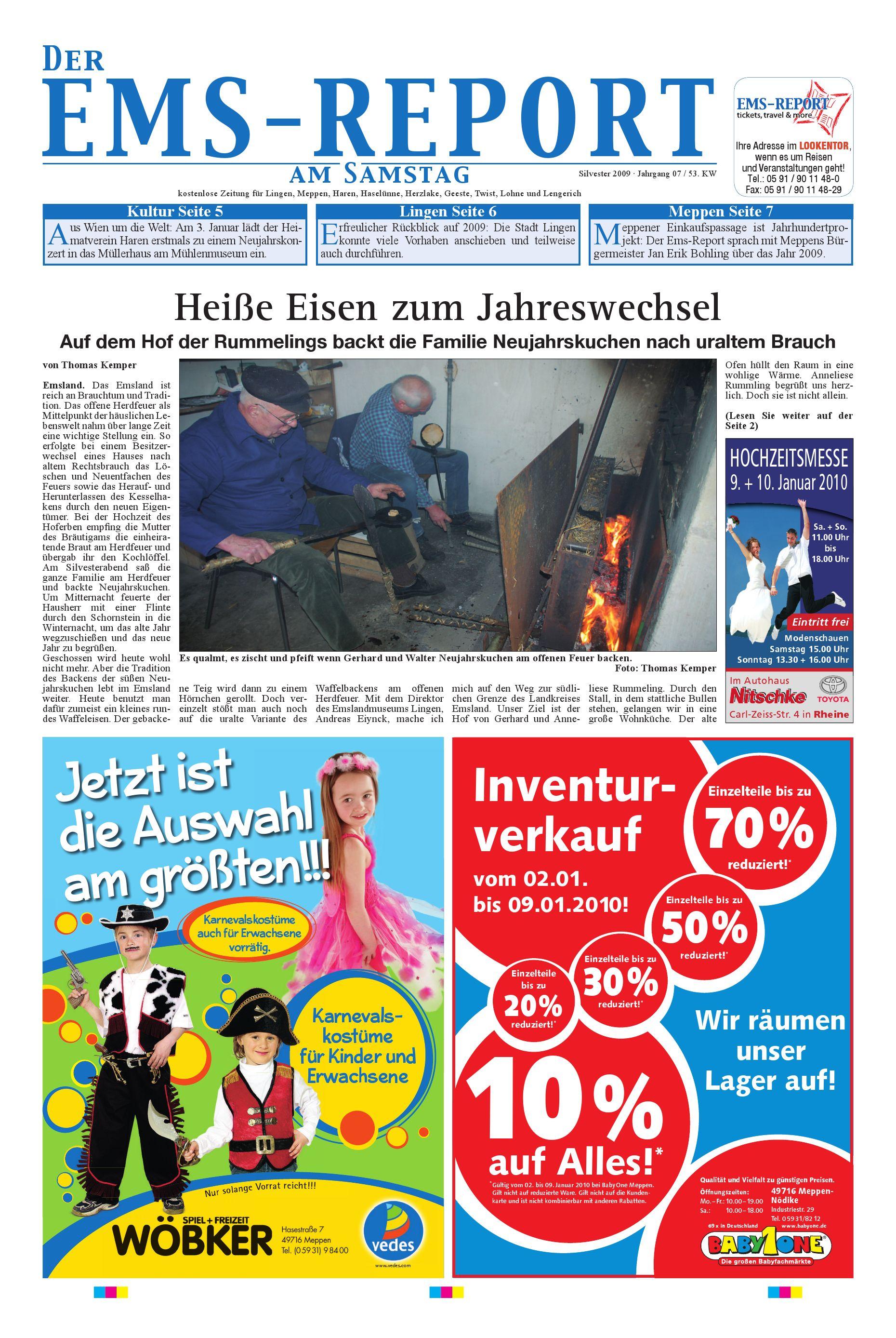 Der Ems-Report Ausgabe Online KW53/09 by Ems-Report GmbH & Co. KG ...