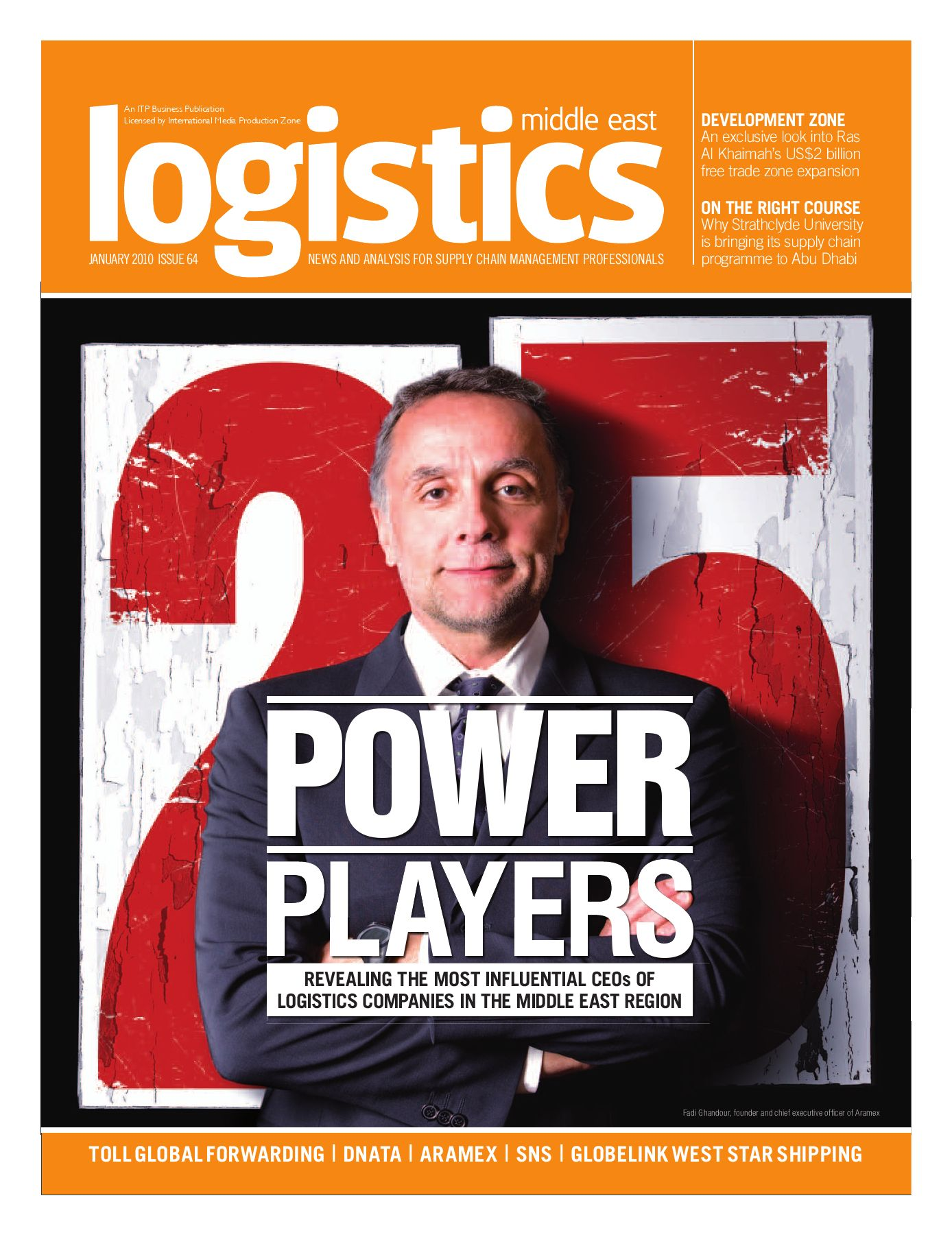 Logistics Middle East - Jan 2010 by ITP Business Publishing