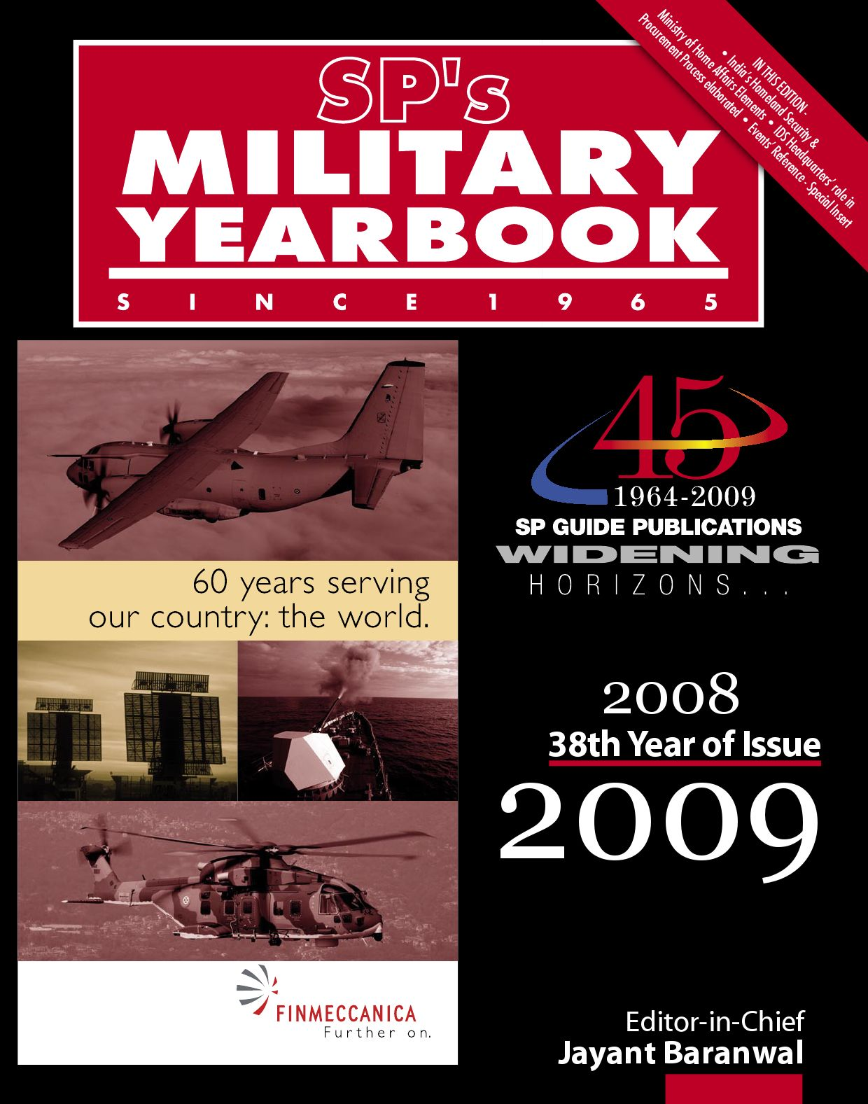 SPs Military Yearbook 2008 2009 By SP Guide Publications Pvt Ltd