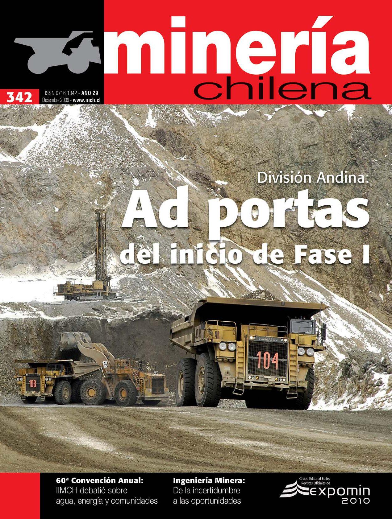 División Andina: Ad portas del inicio de Fase I by Editec - issuu