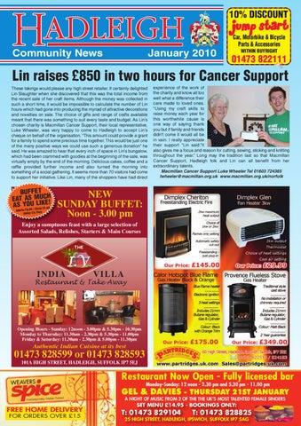e68999b5df2b Hadleigh Community News, January 2010 by Keith Avis Printers - issuu