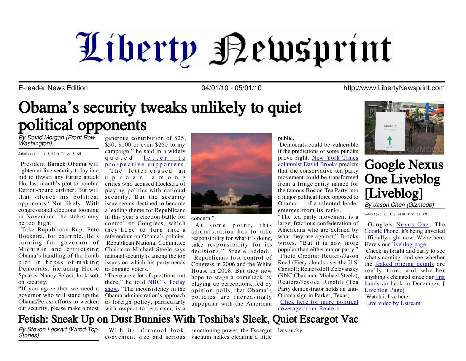 Liberty newsprint jan 05 10 by liberty newspost issuu fandeluxe Images