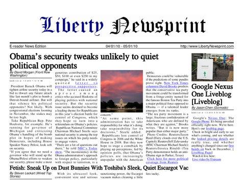 Liberty newsprint jan 05 10 by liberty newspost issuu page 1 fandeluxe Gallery