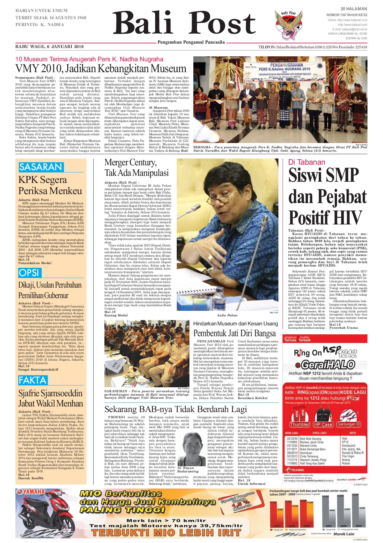 Edisi 06 Januari 2010  59cea673d0
