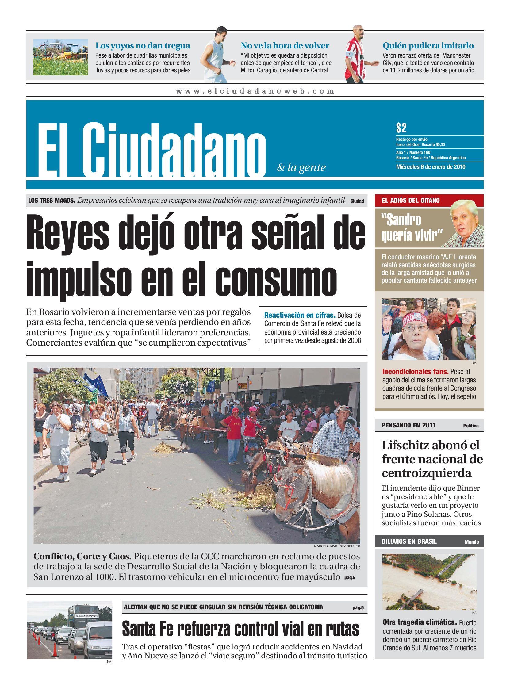 Edición 6 de enero by Dario Elciudadano - issuu