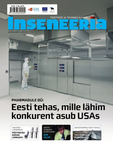 dd93395a3ba Inseneeria 2010 01 by EAS, Enterprise Estonia - issuu
