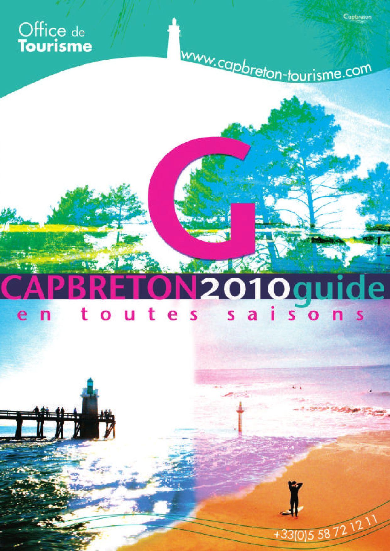Ot capbreton guide 2010 by gmt editions issuu - Office de tourisme capbreton ...