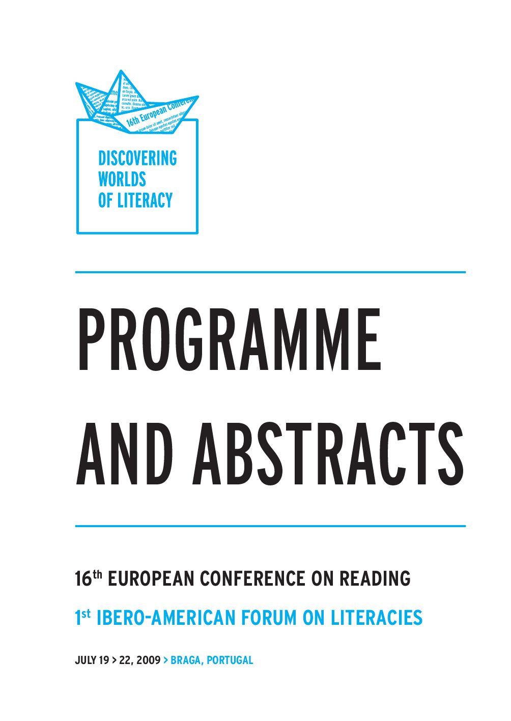 16th European Conference on Reading - Book of Abstracts (Parte 1) by ...