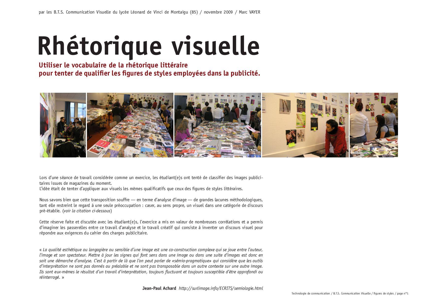 images et figures de style by VAYER Marc - Issuu