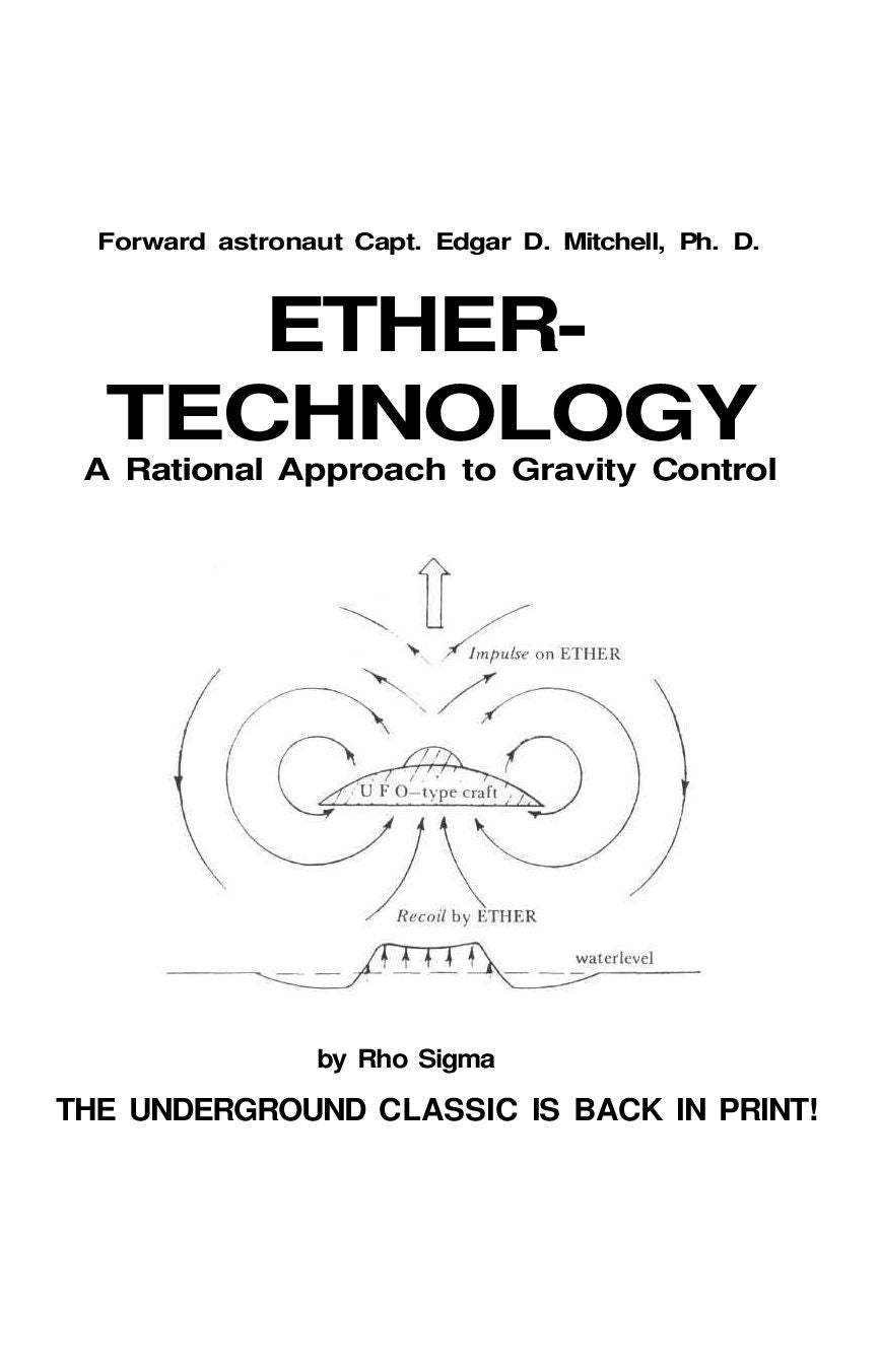 ETHER-TECHNOLOGY A Rational Approach to Gravity Control by ioannis tour -  issuu