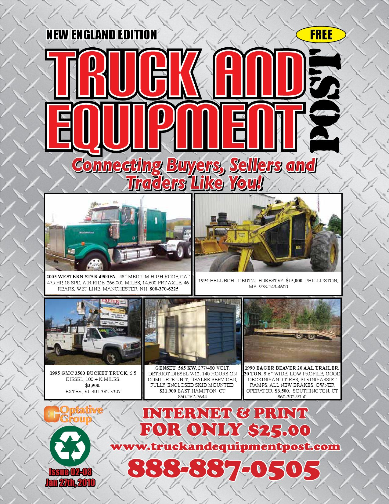 Truck And Equipment Post - Issue 02-03 2010 by 1ClickAway