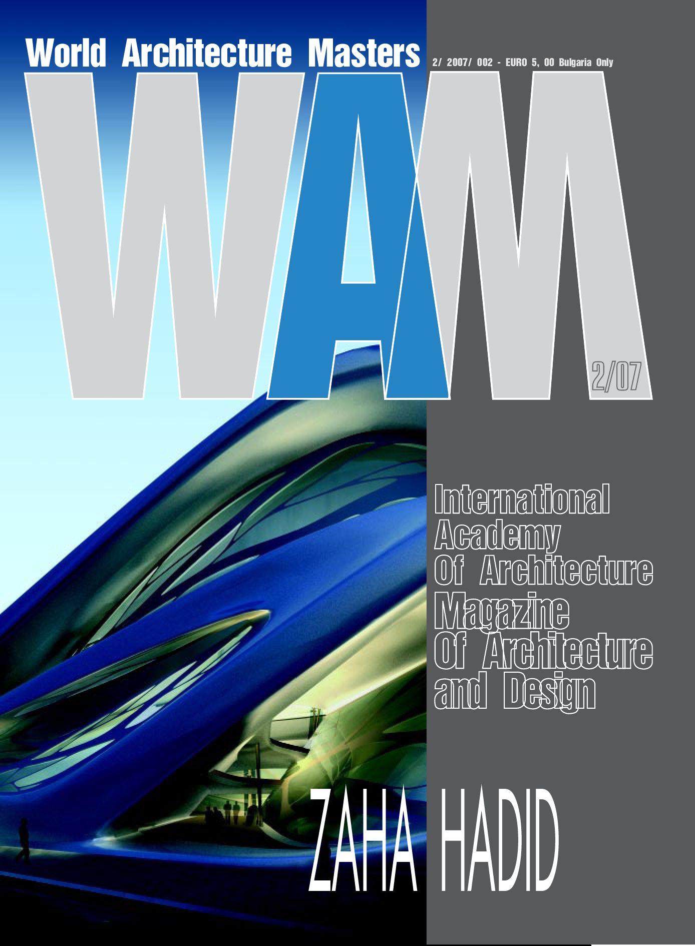 Zaha Hadid WAM magazine by Arch Media - issuu
