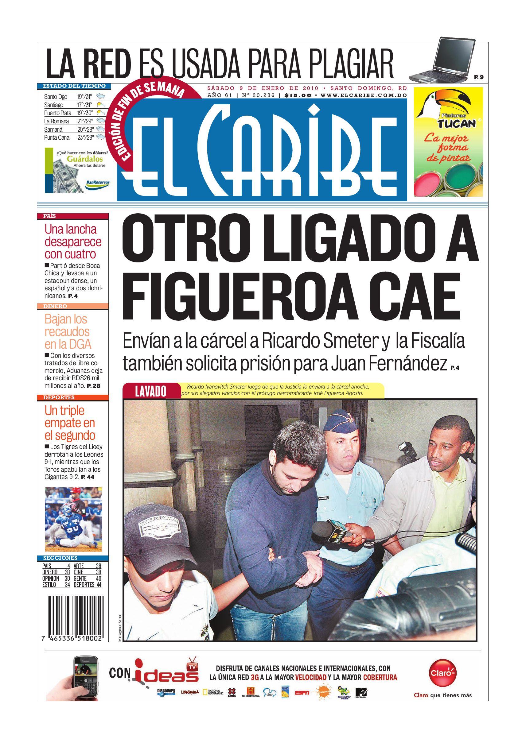 Elcaribe- Edición Impresa 090110 by Multimedios del Caribe