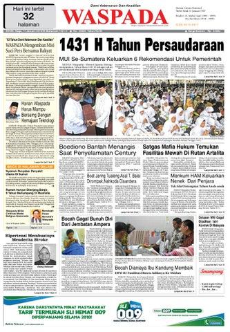 Waspada Senin 11 Januari 2010 By Harian Waspada Issuu