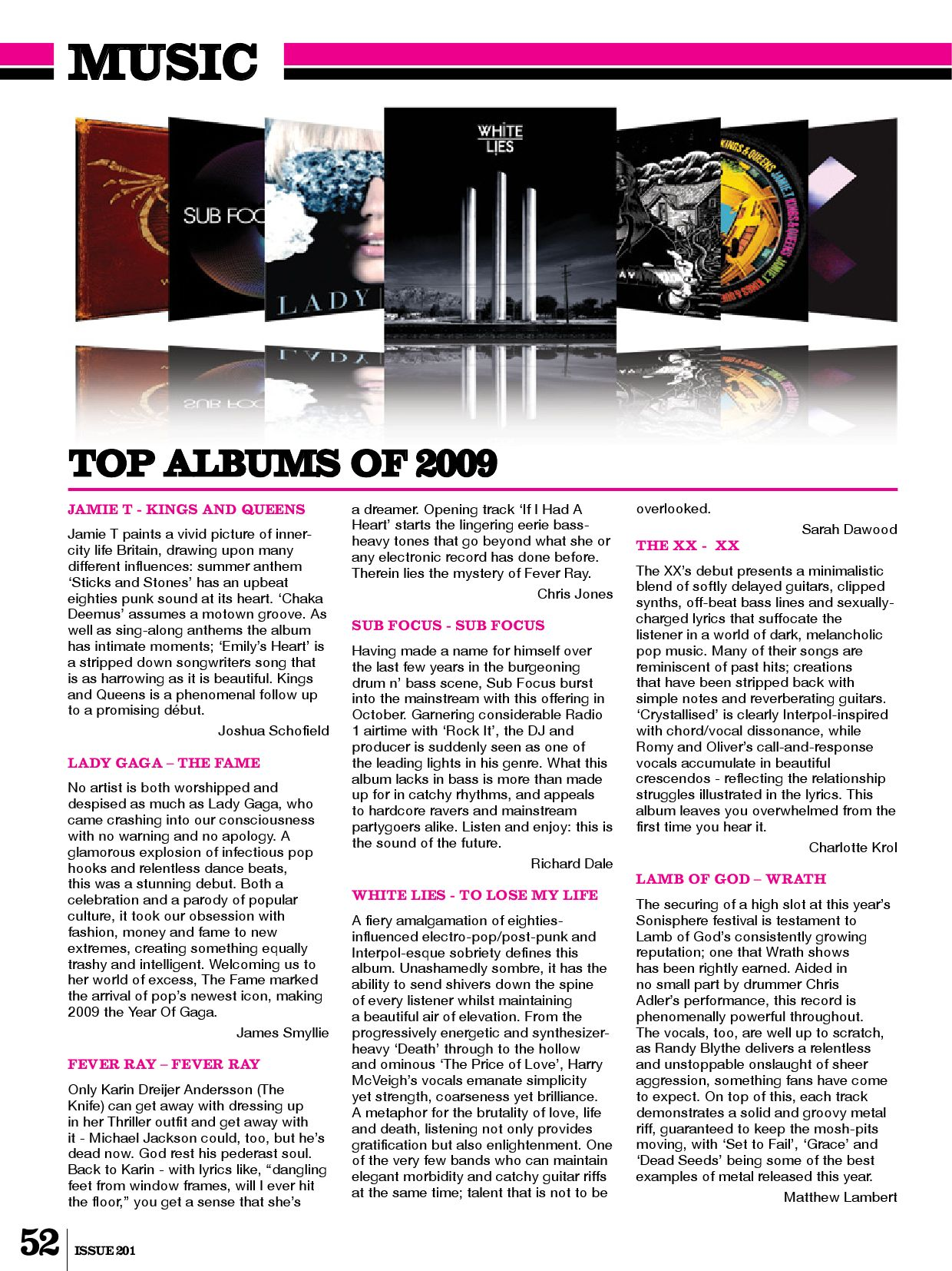 Impact Magazine - Issue 201 - Jan 2010 by Impact Magazine - issuu