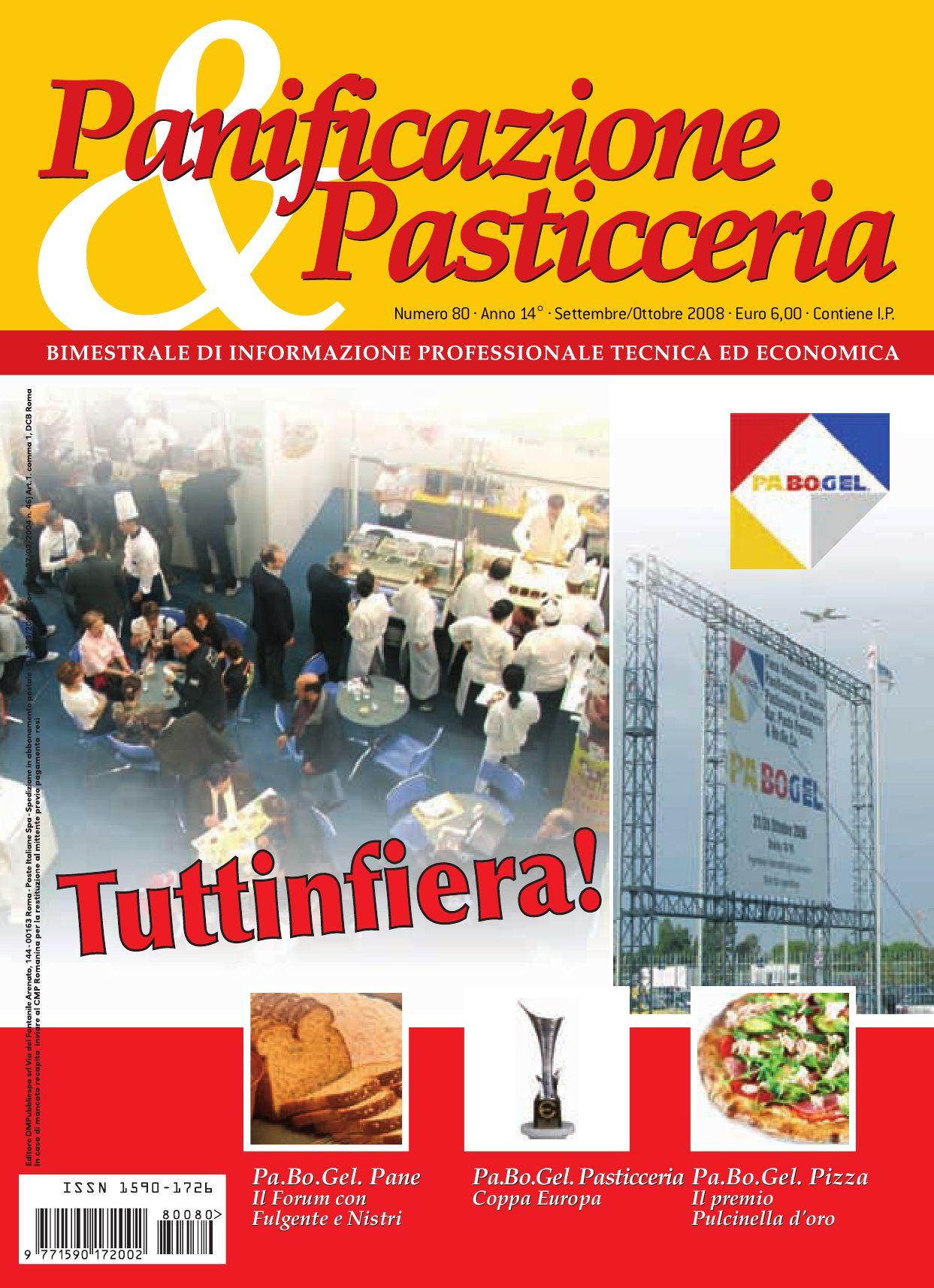 Panificazione&Pasticceria Nr 80 Sett Ott 2008 By D M P SRL Issuu